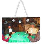 Poker Weekender Tote Bag