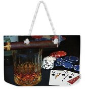 Poker Night Weekender Tote Bag