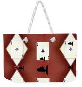 Poker Sharks Weekender Tote Bag