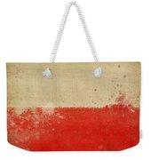 Poland Flag  Weekender Tote Bag