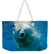 Polar Bear Contemplating Dinner Weekender Tote Bag