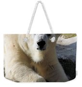 Polar Bear Weekender Tote Bag