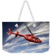 Polar First Helicopter Weekender Tote Bag