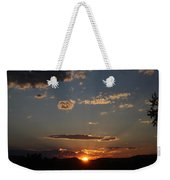 Polarized Sunset  Weekender Tote Bag