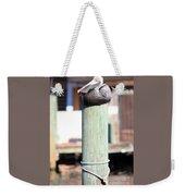 Pole Top Pelican Weekender Tote Bag