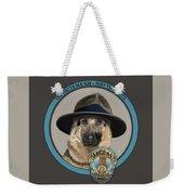 Police Dog Weekender Tote Bag