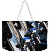 Police Motorcycles Weekender Tote Bag