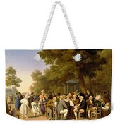 Politicians In The Tuileries Gardens Weekender Tote Bag by Louis Leopold Boilly