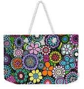 Polka Dot Bouquet Weekender Tote Bag