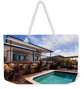 Poll And House With Deck Weekender Tote Bag