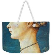 Pollaiuolo: Young Woman Weekender Tote Bag