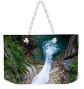 Pollat River Waterfall - Neuschwanstein Castle - Germany Weekender Tote Bag