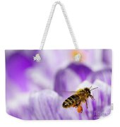 Pollen Collector Weekender Tote Bag