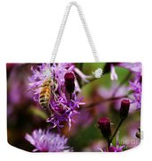 Pollen Powdered Bee Weekender Tote Bag