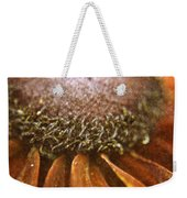 Pollenated Painted Daisy Weekender Tote Bag