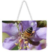 Pollinating 4 Weekender Tote Bag