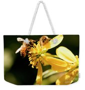 Pollinating Bees Weekender Tote Bag