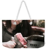 Pollution Through Consumption Weekender Tote Bag