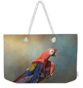 Polly Want A Cracker Weekender Tote Bag