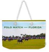 Polo Match Florida Weekender Tote Bag