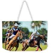 Polo Players And Ponies Weekender Tote Bag
