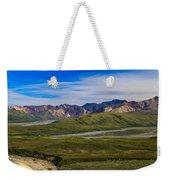 Polychrome Pass Area Denali National Park Four Weekender Tote Bag