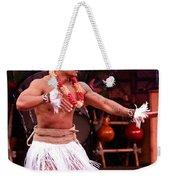 Polynesian Warrior Dancer Weekender Tote Bag