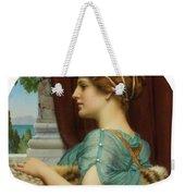 Pompeian Lady Weekender Tote Bag