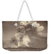 Pompeii: Mount Vesuvius Weekender Tote Bag