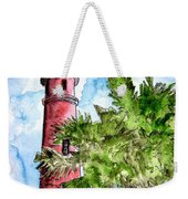 Ponce De Leon Inlet Florida Lighthouse Art Weekender Tote Bag