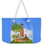 Ponce Lighthouse Weekender Tote Bag
