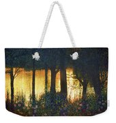 Pond And Euro Garden Weekender Tote Bag