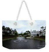 Pond At Alys Beach Weekender Tote Bag by Megan Cohen