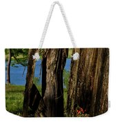 Pond Fragments Weekender Tote Bag