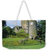 Pond In Front Of A Castle, Blarney Weekender Tote Bag