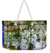 Pond In Marrakesh Weekender Tote Bag