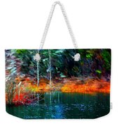 Pond In The Woods Weekender Tote Bag