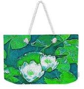 Pond Lily 2 Weekender Tote Bag