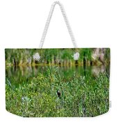 Pond On Cherry Creek Study 2 Weekender Tote Bag