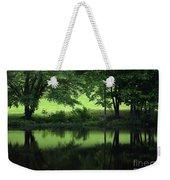Pond Reflect Weekender Tote Bag