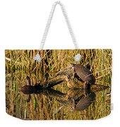 Pond Turtles Weekender Tote Bag
