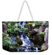 Pond Waterfall Weekender Tote Bag