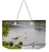 Pondering Fisherman Weekender Tote Bag