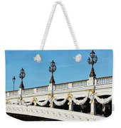 Pont Alexandre IIi - Paris, France Weekender Tote Bag