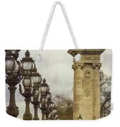 Pont Alexandre IIi Paris Weekender Tote Bag