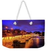 Pont Neuf At Night Weekender Tote Bag