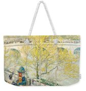 Pont Royal Paris Weekender Tote Bag by Childe Hassam