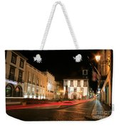Ponta Delgada At Night Weekender Tote Bag