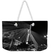 Ponte Octavio Frias De Oliveira At Night - Sao Paulo, Brazil Weekender Tote Bag