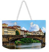 Ponte Santa Trinita Weekender Tote Bag